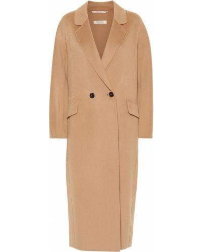 Пальто классическое бежевое шерстяное 's Max Mara