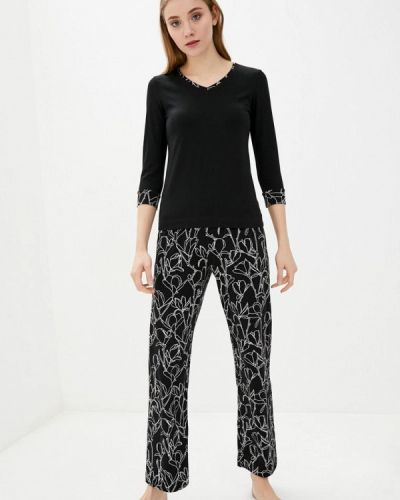 Пижамная черная пижама Promin