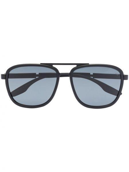 Солнцезащитные очки - черные Prada Eyewear