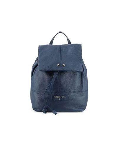 Синий рюкзак-мешок Patrizia Pepe