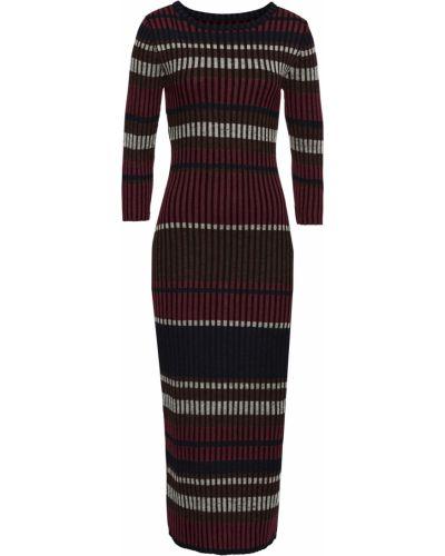 Облегающее платье джинсовое вязаное Bonprix