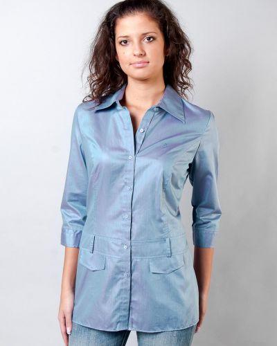 Фиолетовая блузка Pierre Cardin