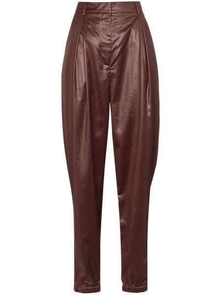 Красные брюки с карманами Tibi