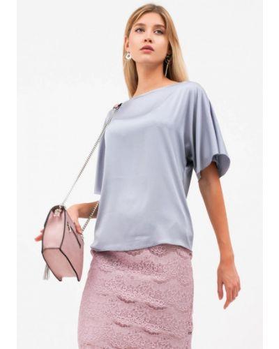 Серая зимняя блузка Lussotico