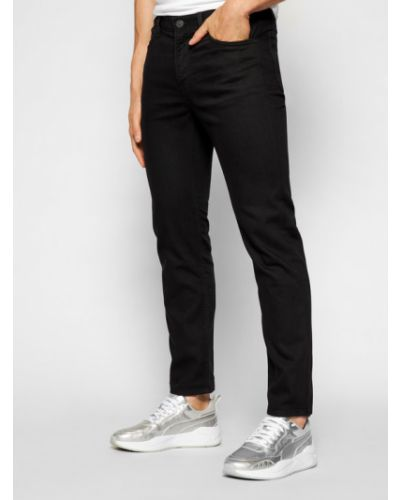 Mom jeans - czarne Lee