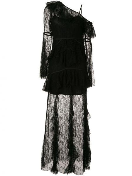 Платье черное длинное Alice Mccall