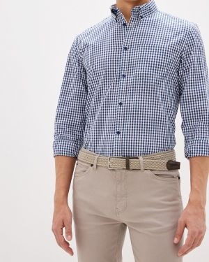 Рубашка с длинным рукавом синий Top Secret