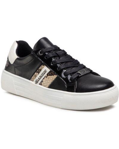 Sneakersy - czarne Dockers By Gerli