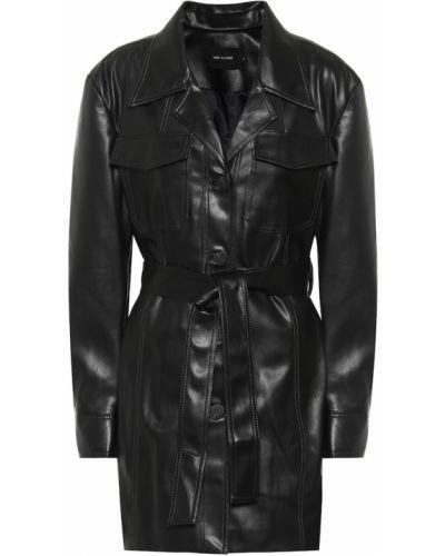Черная кожаная куртка Low Classic