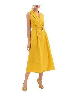 Желтое платье Luisa Spagnoli