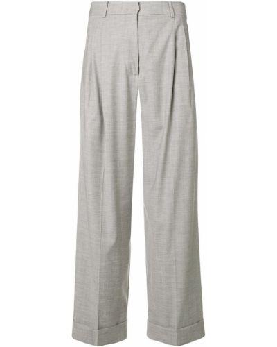 Укороченные брюки с завышенной талией свободные Max Mara Studio