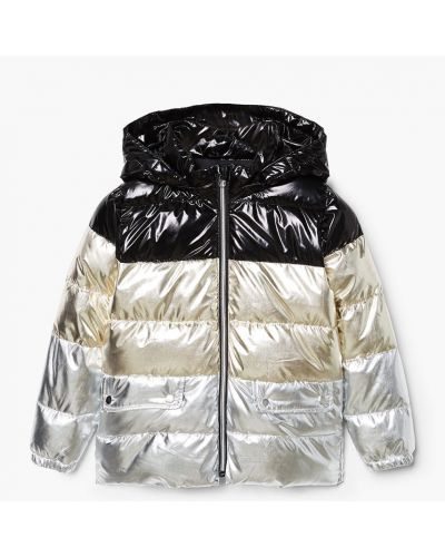 Куртка прямая хлопковая Mango Kids