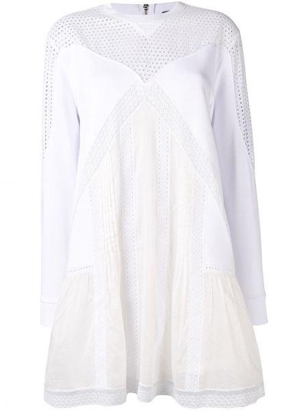 Платье с вышивкой - белое Diesel Black Gold