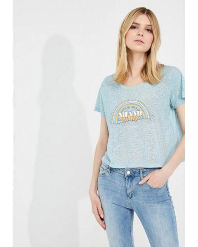 Бирюзовая футболка Armani Exchange