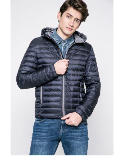 Утепленная куртка с капюшоном стеганая Geox