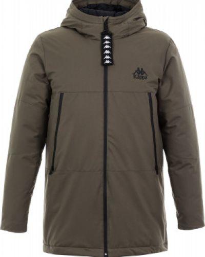 Куртка с капюшоном утепленная спортивная Kappa