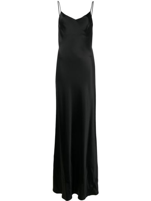 Тонкое платье на бретелях с V-образным вырезом на молнии Galvan