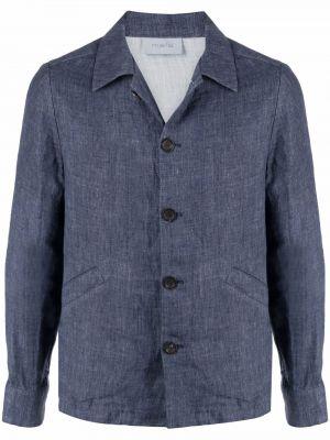 Длинная куртка - синяя Malo