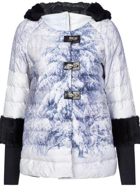 Куртка с капюшоном мятная Gallotti