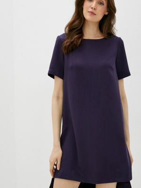Платье - синее Vivostyle