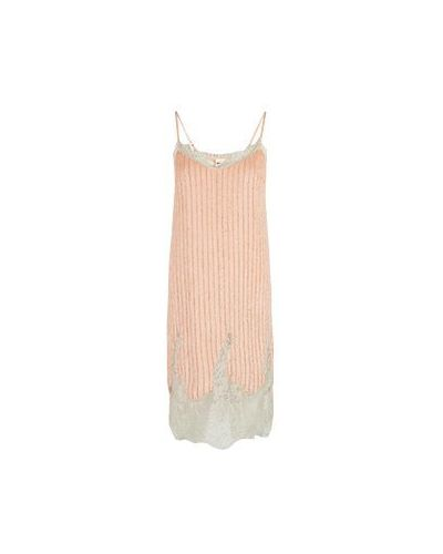 Коктейльное платье розовое Semicouture