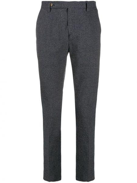 Прямые брюки с заплатками с карманами новогодние Entre Amis