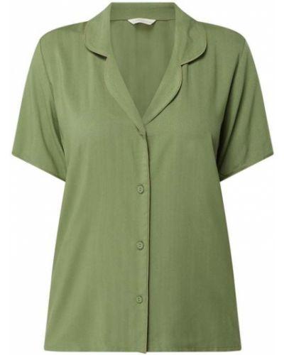 Zielona piżama krótki rękaw z wiskozy Cyberjammies