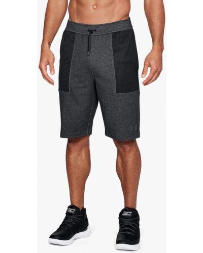 Серые спортивные шорты Under Armour