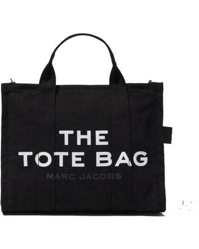 Torba na ramię bawełniana Marc Jacobs