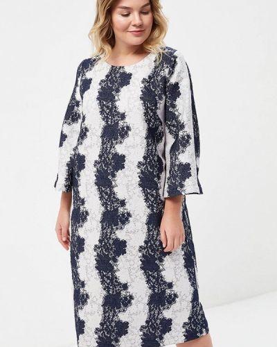 Платье весеннее синее Aelite