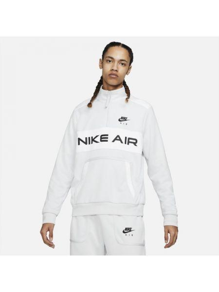Klasyczna szara kurtka sportowa Nike