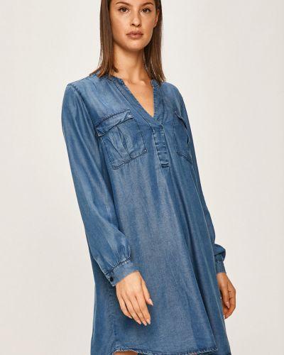 Джинсовое платье мини повседневное Answear
