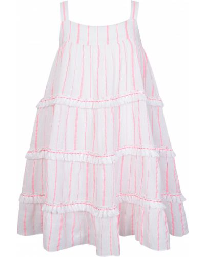 Белое хлопковое платье Sunuva