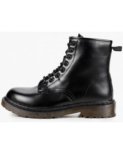 Черные ботинки Go-go