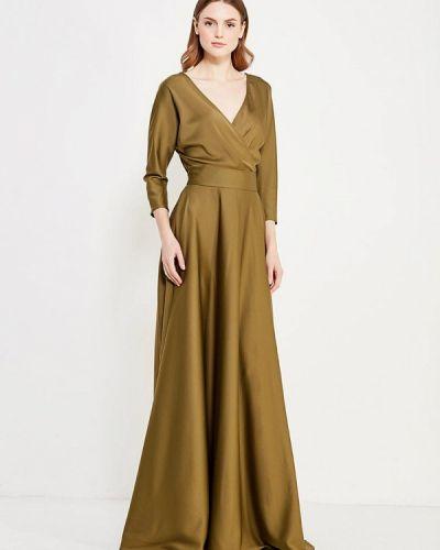 Вечернее платье осеннее итальянский Mazal