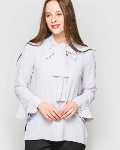 Серая блузка с оборками Evercode