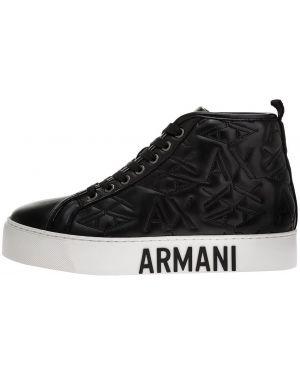 Высокие кеды Armani Exchange