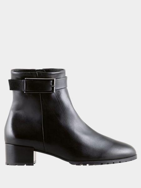 Кожаные ботинки - черные Hogl