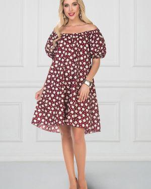 Платье мини с поясом платье-сарафан Bellovera