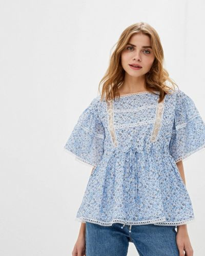 Блузка с коротким рукавом турецкий осенняя Lusio