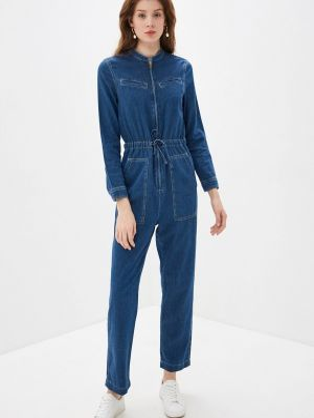 Синий джинсовый комбинезон Marks & Spencer