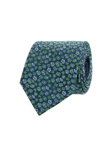 Jedwab zielony krawat Christian Berg Men