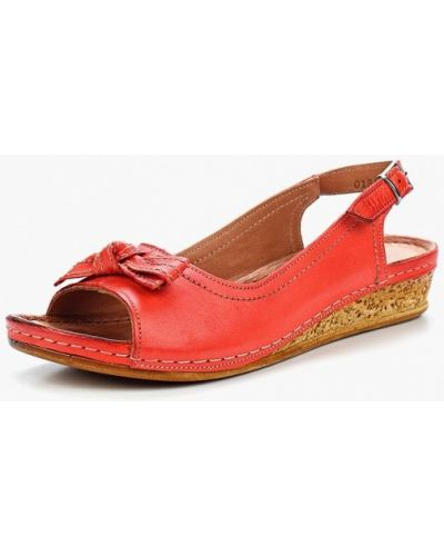 Красные сандалии турецкие Alessio Nesca