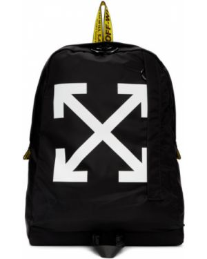 Рюкзак белый текстильный Off-white