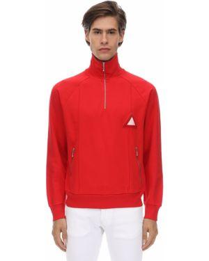 Prążkowana bluza bawełniana Gr Uniforma X Diesel Red Tag