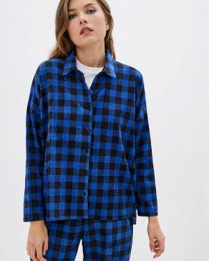 Рубашка с длинным рукавом синяя Compania Fantastica