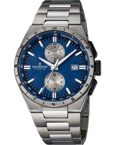 Кварцевые часы швейцарские титановые Candino