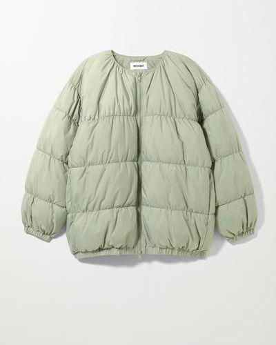 Куртка оверсайз - бежевый Weekday