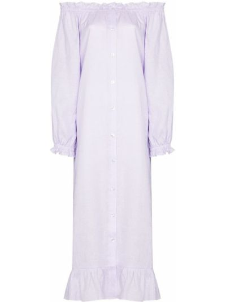 Льняное платье Sleeper