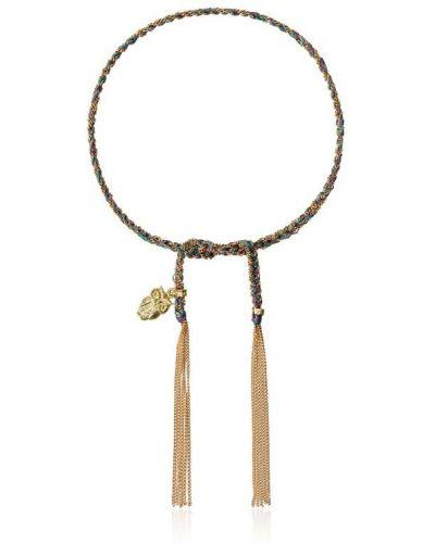 Малиновый золотой браслет Carolina Bucci